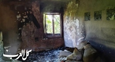 اندلاع حريق كبير في منزل بمدينة العفولة