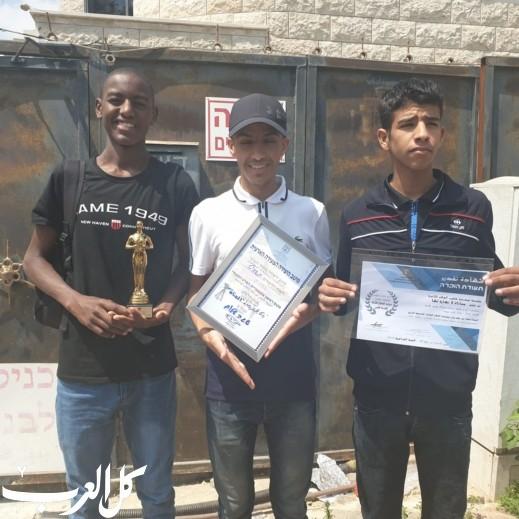 شقيب السلام الثانوية تفوز بجائزة مهرجان الافلام