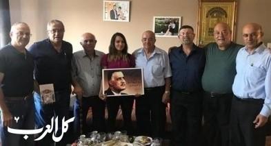 زيارة لجنة احياء مئوية عبد الناصر للطالبة تسنيم حسنين