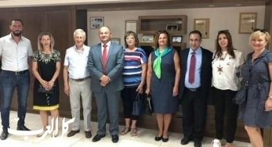 زيارة سفير البوسنة والهرسك منطقة الجليل