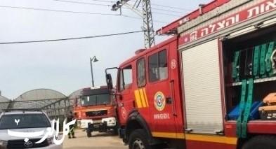 مجد الكروم: إندلاع حريق بمحل لبيع الدراجات