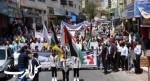 مشاركة بلدية دورا في مسيرة احتجاجية