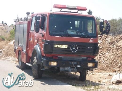 اندلاع حريق داخل منزل في بلدة طرعان