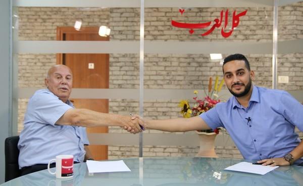 arabTV: رئيس مجلس عيلوط بتصريحات عبر برنامج مع الرئيس