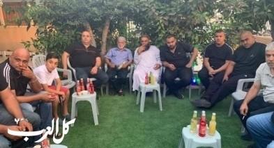 عقد راية الصلح بين عائلتين في قلنسوة