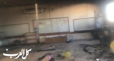 النقب: إضرام النار بروضة وبستان أطفال في أم بطين