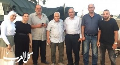 عائلة ابو كشك في مدينة اللد مستمرة في نضالها احتجاجا