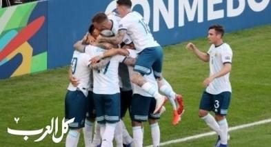 الأرجنتين تصعد لملاقاة البرازيل بالفوز على فنزويلا