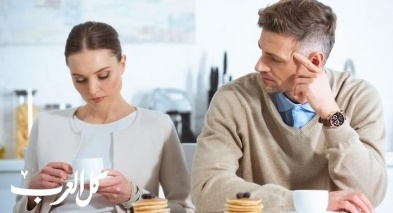 دراسة: شجارك مع زوجك يكسبك الوزن!