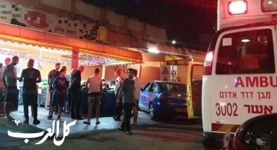 سطو مسلح واطلاق نار في محل تجاري بمدينة طمرة