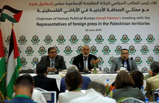 حماس: الوضع الفلسطيني في مأزق