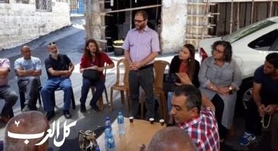 القدس: توما وكسيف بزيارة تضامنيّة للعيسوية