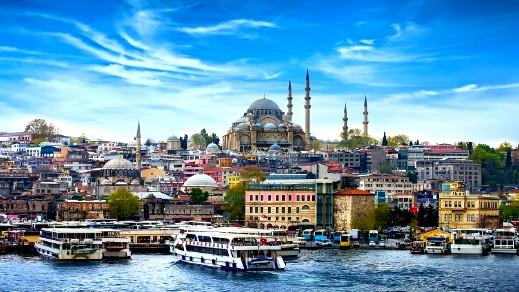 ارتفاع عدد السياح الأجانب الوافدين لتركيا