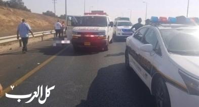 إصابة شاب جراء حادث على مفرق الكابري