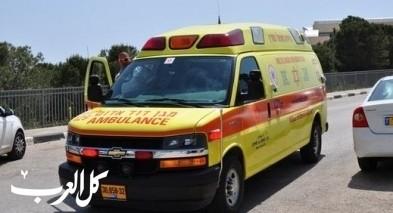 إصابة شابة جرّاء حادث طرق قرب عكا