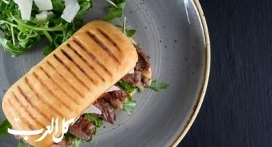 ساندويش ستيك فيليه اللحم.. صحتين