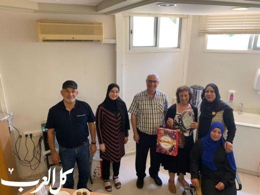 القسم العربي في كليّة أحفا يُكرّم السكرتيرة