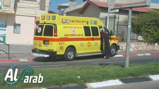 إصابة متوسطة لعامل بمنشار كهربائي في بني براك