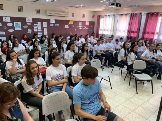 مخيم اللغة الانجليزية في مدارس المشهد الثانوية