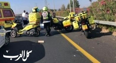 مصرع رجل إثر إنزلاق دراجته النارية عند مدخل طبريا