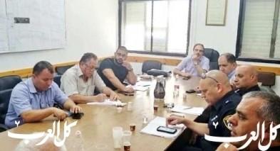 جلسة خاصة بين رئيس وإدارة مجلس كفرياسيف