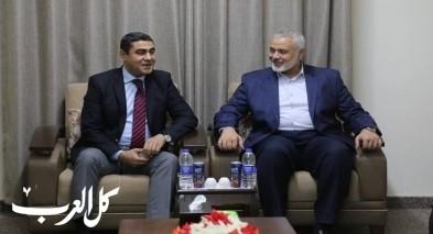 الوفد المصري ينهي لقاءاته مع قادة حماس