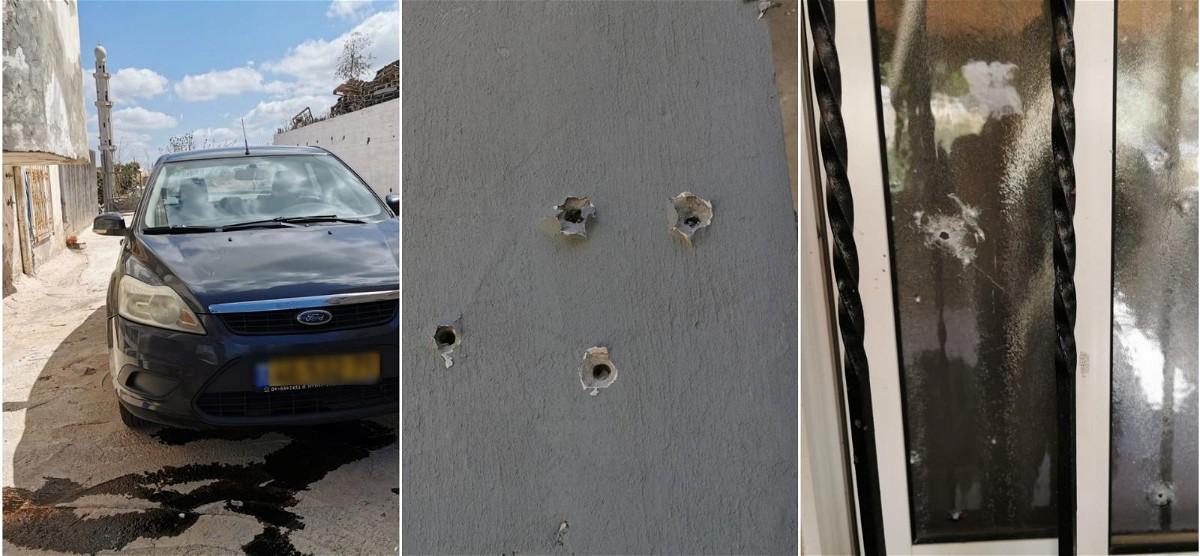 الرصاص يخترق بيوت عائلة زيتاوي في أم الفحم
