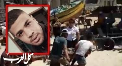 شاهد: لحظة انتشال جثة سليمان ابو الترك