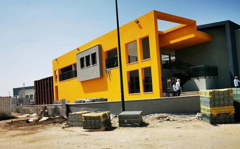 مجلس المزرعة يجهز بناية المدرسة الاعدادية الجديدة