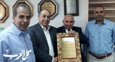 كلية غرناطة تستضيف محافظ محافظة نابلس اللواء إبراهيم