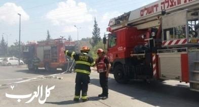 المركز: سقوط كابل كهرباء يسفر عن اندلاع حريق
