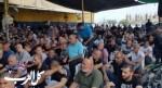المئات من الطيبة يؤدون صلاة الجمعة أمام شرطة كدما