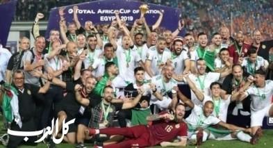الجزائر بطلا لكأس أمم أفريقيا للمرة الثانية