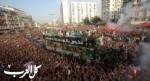 آلاف الجزائريين يحتفلون مع منتخب ثعالب الصحراء
