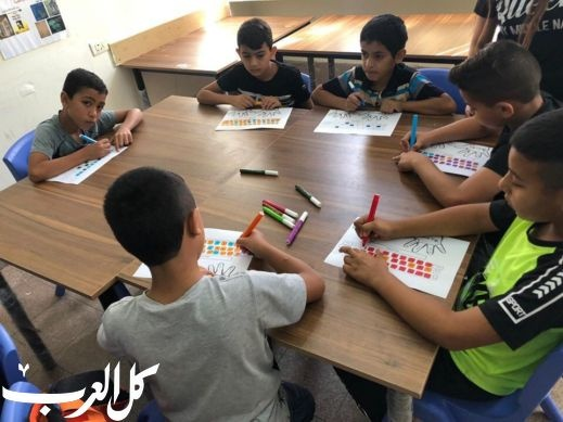 رهط: انطلاق مخيم اللغة الانجليزية بالجماهيري