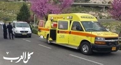 رمات هشارون: إصابة حرجة لرجل تعرض لأزمة قلبية