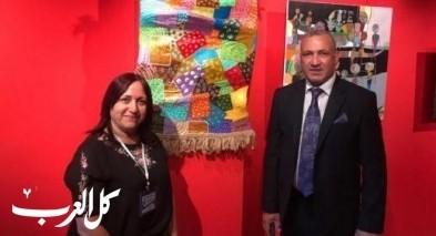 سماح عوض تشارك بمعرض في اذربيجان
