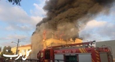 إندلاع حريق في منزل بتل السبع دون إصابات
