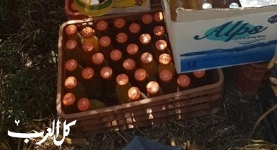 اعتقال مشتبهين من كفرمندا بعد ضبط 200 زجاجة حارقة