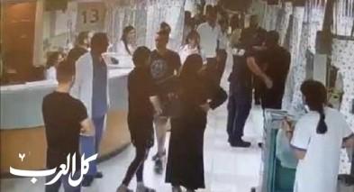 توثيق بالفيديو: شاب من جديدة المكر يعتدي على طبيب