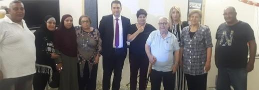 محاضرة لقيس ناصر عن قضايا التخطيط والمسكن بعكا