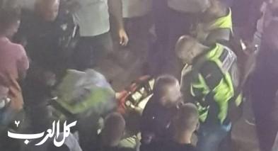 عكا: اصابة شاب بجراح متوسطة بعد سقوطه عن السور
