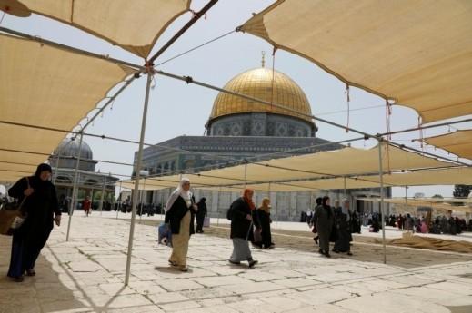 تأجيل صلاة العيد في الأقصى بسبب الاقتحامات