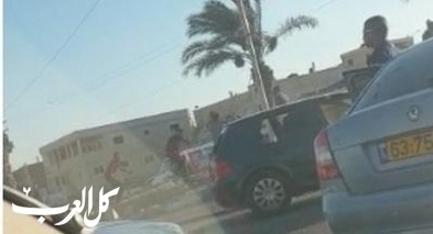 توثيق: شجار عنيف في مدينة رهط
