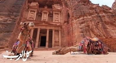ارتفاع اعداد السيّاح في البتراء الأردنية