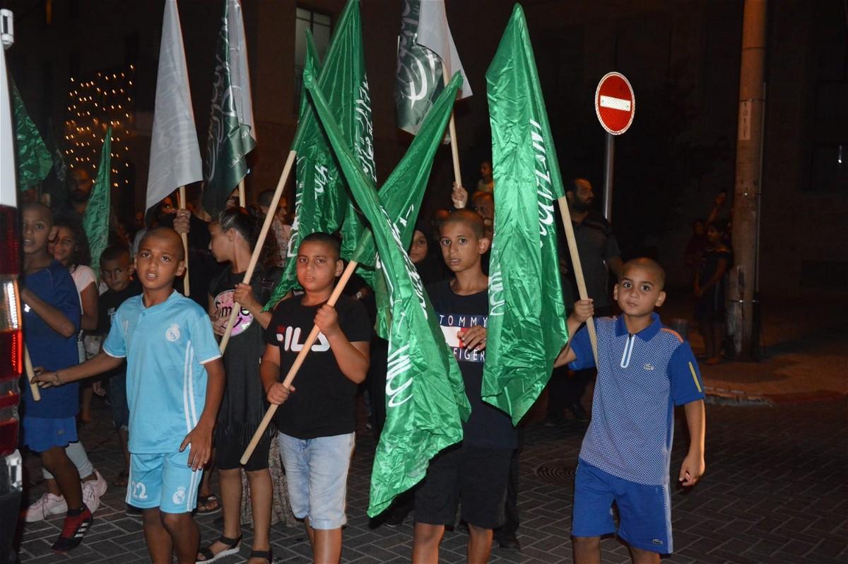 يافا: مشاركة واسعة بمسيرة عيد الاضحى