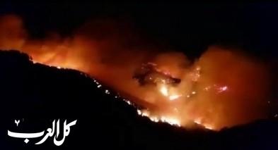 النيران تلتهم جزر الكناري وإجلاء حوالي ألف شخص