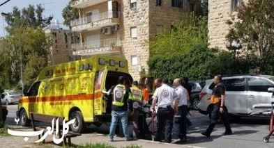 رمات غان: دهس فتى من قِبل شاحنة وإصابته متوسطة