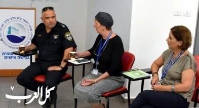 لقاء طاقم المركز الطبي باده بوريا مع شرطة طبريا