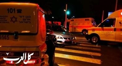 الرامة: اصابة شاب بجراح خطيرة بحادث طرق